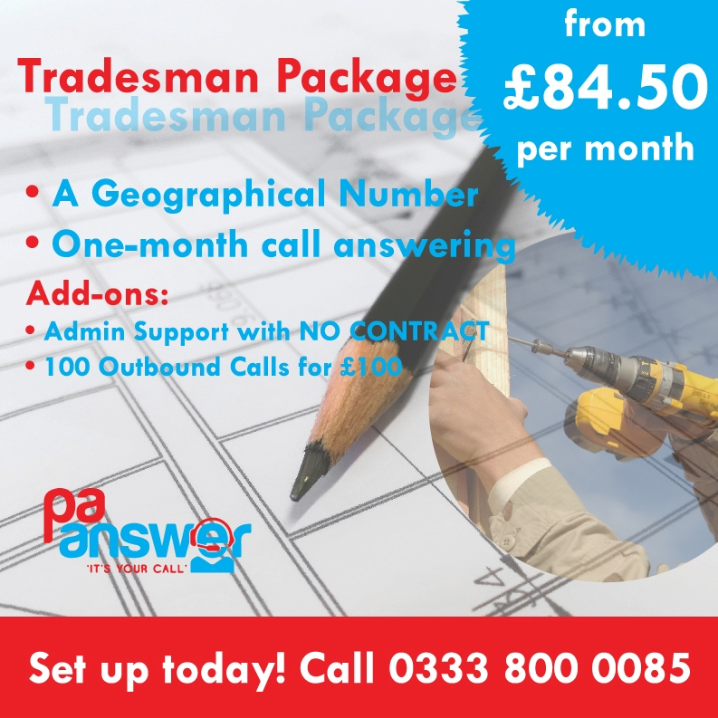 Tradesmen Package Square Large Text